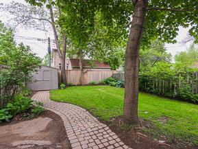 The 3-tier ravine lot has coveted east/west exposure, with the full afternoon sun creating a fabulous atmosphere for entertaining.